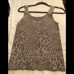 Soma tank top in leopard design, size M